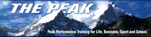 Mountain Picture with caption: Operate at Peak Performance - Don't Let Stress Affect Your Bottom Line