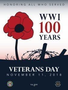 Veterans Day Centennial Poster